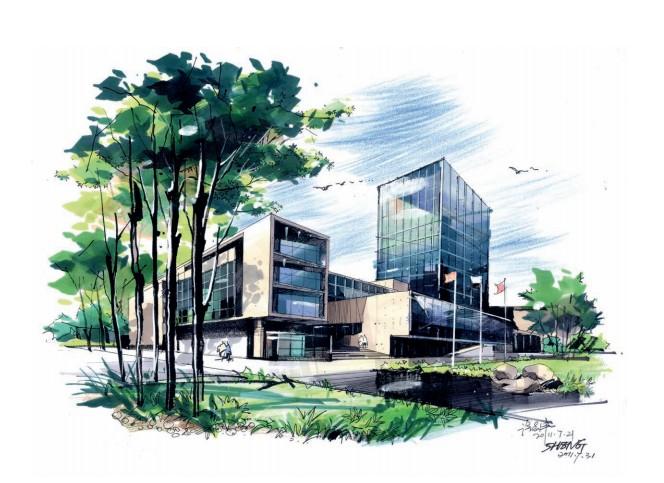 从手绘设计基础到考研系列丛书—建筑设计