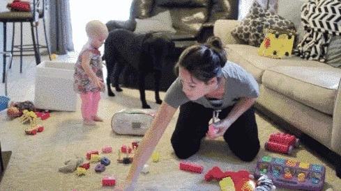 自从有了娃,家里每天都是灾难现场,怎么破?