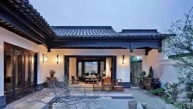 新中式庭院,美到骨子里!这才是属于中国人的院子!