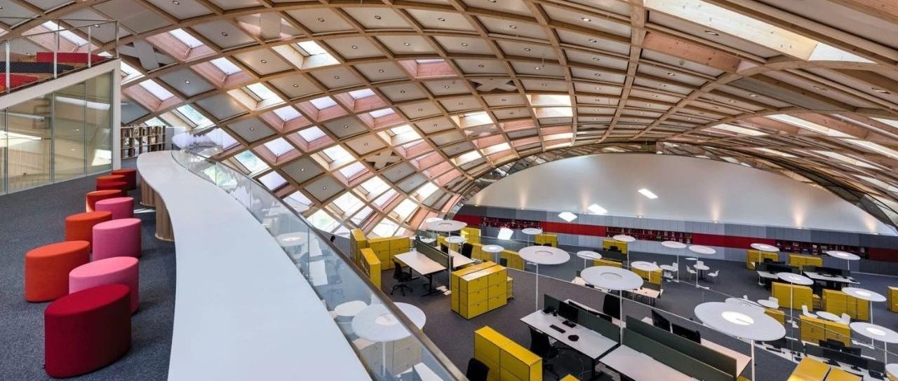 坂茂新作!为 Swatch 设计的木结构总部大楼,每块木料都不一样!