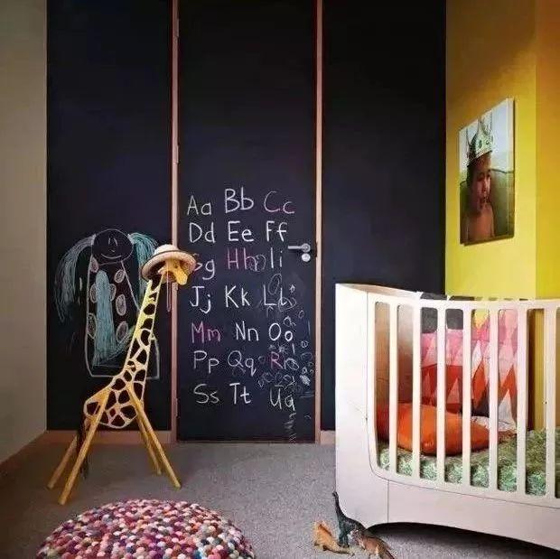 家中想做黑板墙?这5个位置最适合!