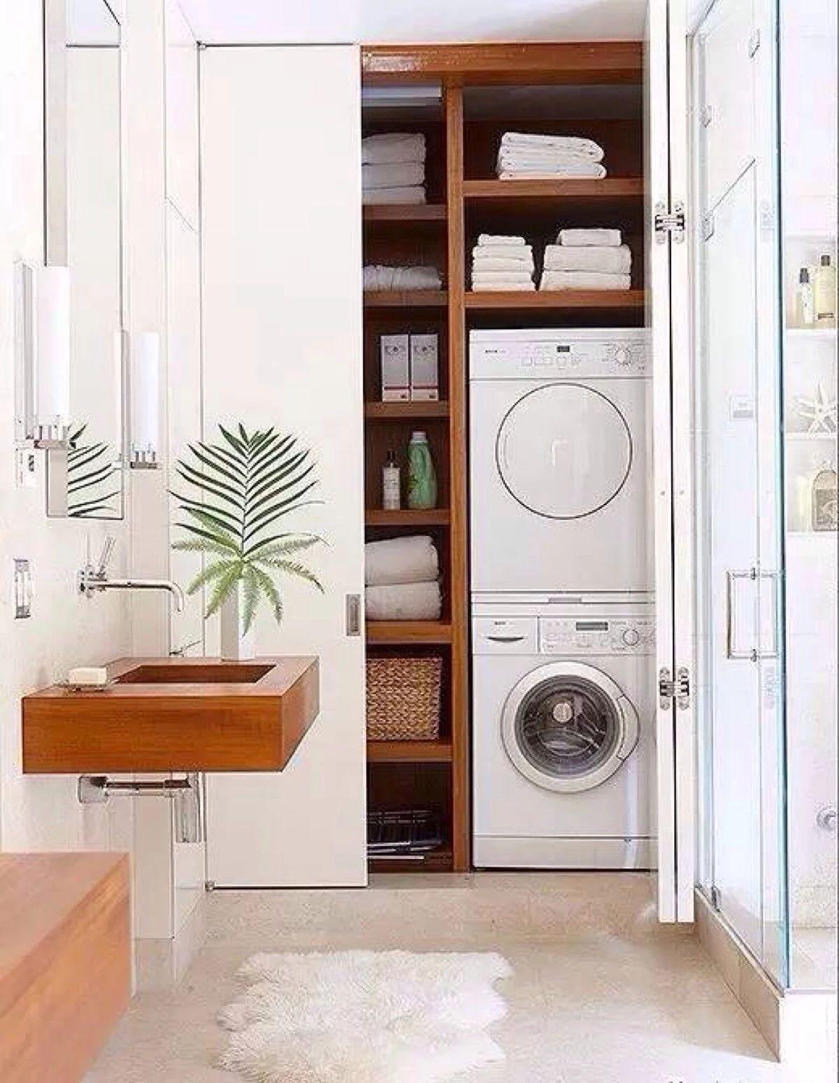 新一年,布置1㎡高效洗衣区